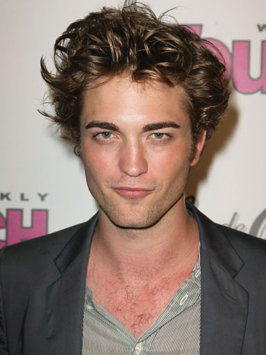 Robert Pattinson Celebrity Hairstyles for Men